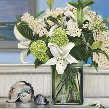 Lilies & Hydrangea