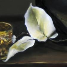Black Vase • Detail